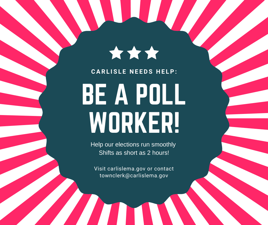 Be a Poll Worker!