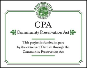 Community Preservation Act Sign