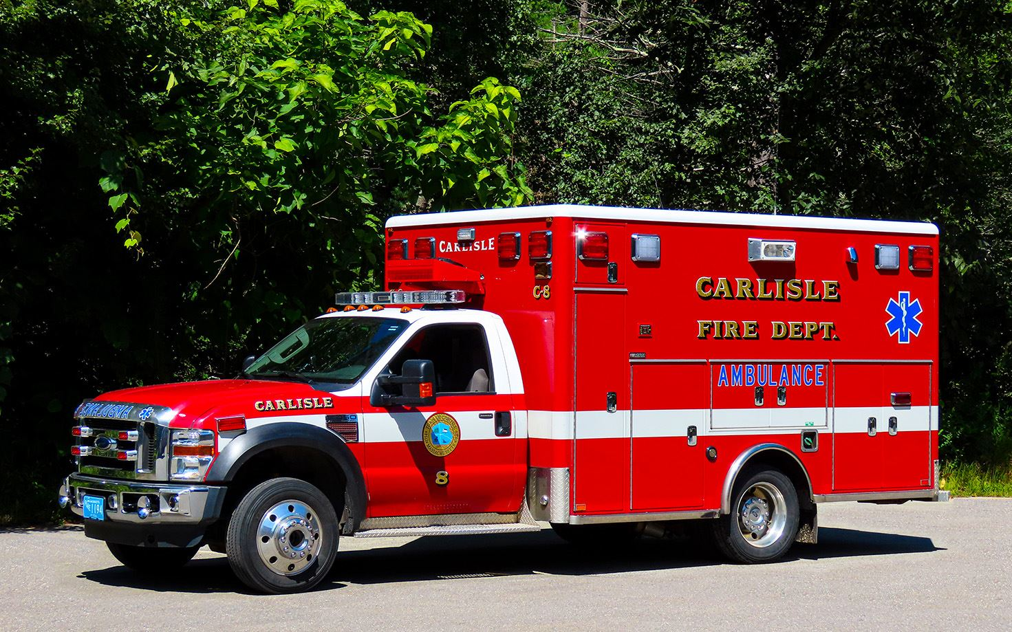 Carlisle Ambulance 8 2008